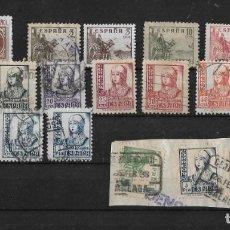 Sellos: ESPAÑA 1937-1940 CIFRAS, CID E ISABEL.. Lote 148204846