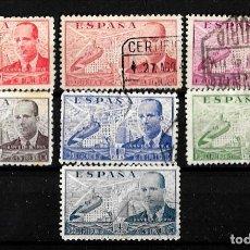 Sellos: ESPAÑA 1939 JUAN DE LA CIERVA SERIE COMPLETA. Lote 148205094