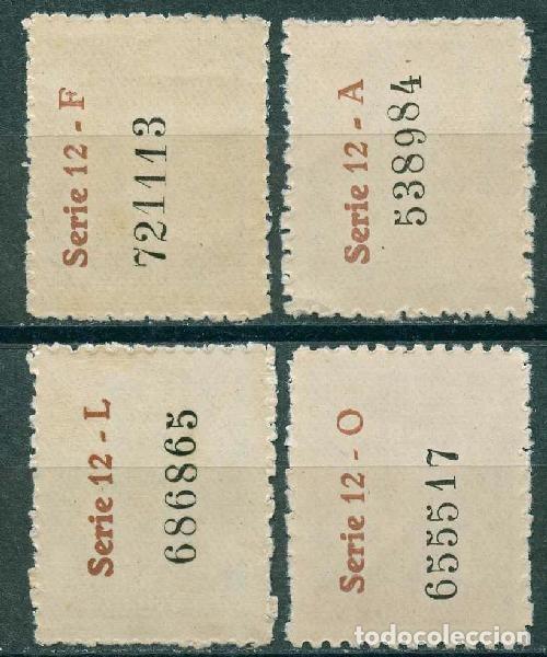 Sellos: 1945 Edifil Barcelona 65/68** - Casa del Arcediano - Foto 2 - 148399126