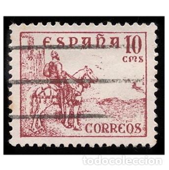 ESPAÑA 1940. EDIFIL 917. CIFRAS Y CID. USADO (Sellos - España - Estado Español - De 1.936 a 1.949 - Usados)