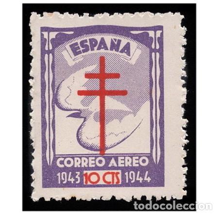 ESPAÑA 1942. EDIFIL 973. PRO TUBERCULOSOS. NUEVO** MNH LEER (Sellos - España - Estado Español - De 1.936 a 1.949 - Nuevos)