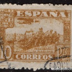 Sellos: ESPAÑA 813 - AÑO 1936 - JUNTA DE DEFENSA NACIONAL - DESEMBARCO DE ALGECIRAS. Lote 148972258