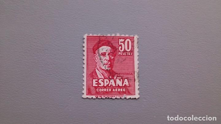ESPAÑA - 1947 - EDIFIL1016 - BONITO - IGNACIO ZULOAGA - VALOR CATALOGO 65€. (Sellos - España - Estado Español - De 1.936 a 1.949 - Usados)