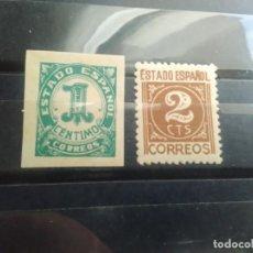 Sellos: EDIFIL 914 Y 915 DE LA SERIE: CIFRAS Y CID - AÑO 1940. Lote 151734406