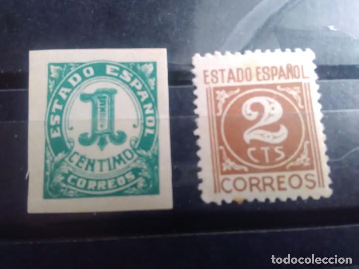 EDIFIL 914 Y 915 DE LA SERIE: CIFRAS Y CID - AÑO 1940 (Sellos - España - Estado Español - De 1.936 a 1.949 - Nuevos)
