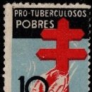 Sellos: ESPAÑA 1937 EDIFIL 840 PROTUBERCULOSOS MNH** NUEVOS 2 FOTOS. Lote 151981694