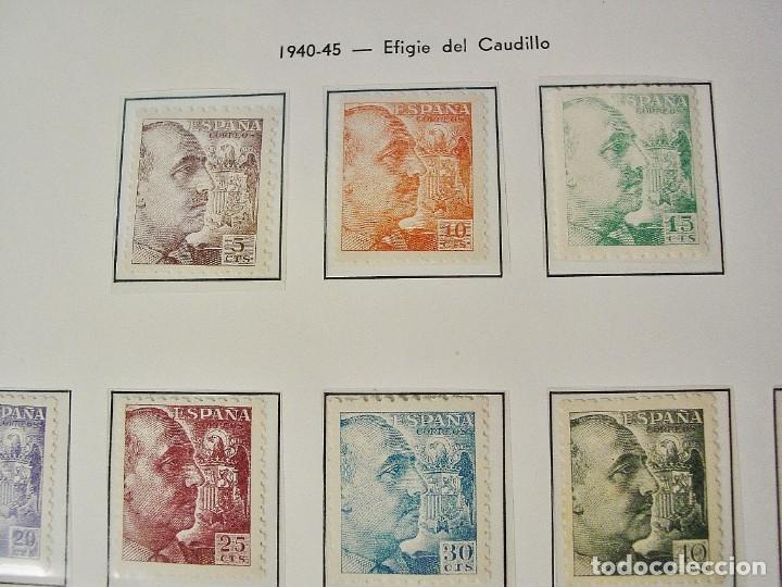 Sellos: ED 919/935 GENERAL FRANCO 1940/45. DENTADO GRUESO. CENTRADO LUJO, SIN FIJASELLOS. - Foto 3 - 96743911