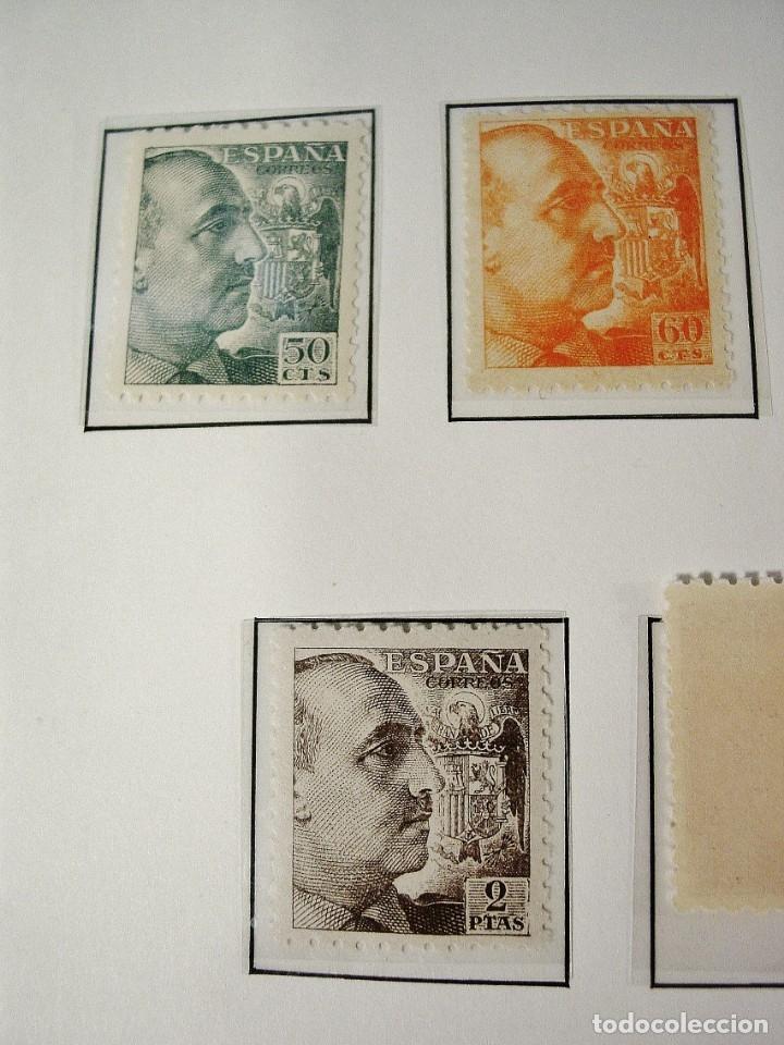 Sellos: ED 919/935 GENERAL FRANCO 1940/45. DENTADO GRUESO. CENTRADO LUJO, SIN FIJASELLOS. - Foto 4 - 96743911
