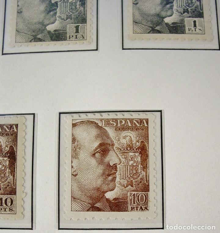 Sellos: ED 919/935 GENERAL FRANCO 1940/45. DENTADO GRUESO. CENTRADO LUJO, SIN FIJASELLOS. - Foto 5 - 96743911