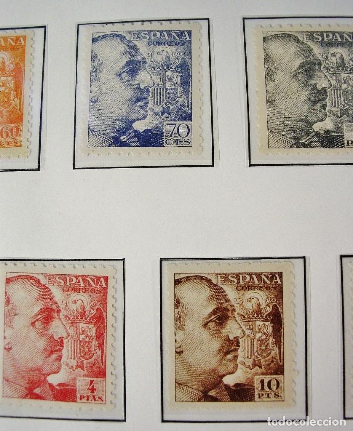 Sellos: ED 919/935 GENERAL FRANCO 1940/45. DENTADO GRUESO. CENTRADO LUJO, SIN FIJASELLOS. - Foto 6 - 96743911