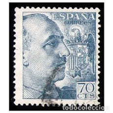 Sellos: ESPAÑA 1949-53. EDIFIL 1055. GENERAL FRANCO. USADO. Lote 152969538