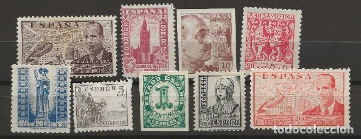 R60/ LOTE VARIADO ESTADO ESPAÑOL (CON FIJASELLOS) (Sellos - España - Estado Español - De 1.936 a 1.949 - Nuevos)