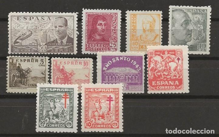 R60/ LOTE VARIADO ESTADO ESPAÑOL ( SIN FIJASELLOS) (Sellos - España - Estado Español - De 1.936 a 1.949 - Nuevos)