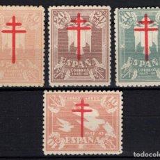 Briefmarken - ESPAÑA 957/60* - AÑO 1942 - PRO TUBERCULOSOS - 155165774