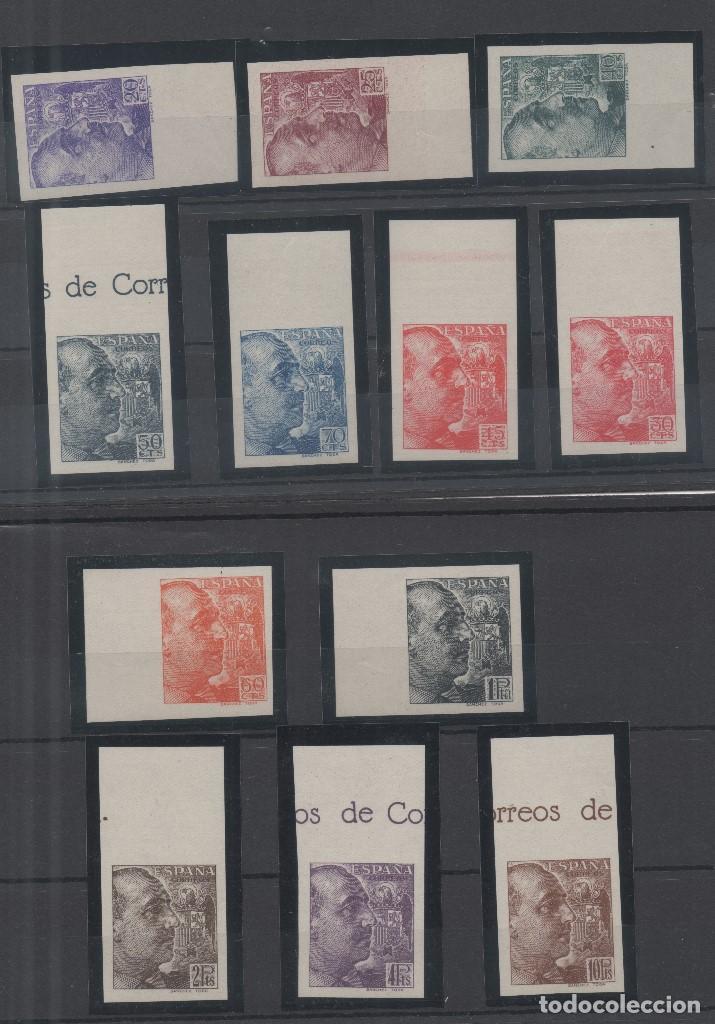 ESPAÑA=Nº 867/78_GENERAL FRANCO POR SANCHEZ TODA SIN DENTAR_CATALOGO 1100 EUROS_VER FOTOS (Sellos - España - Estado Español - De 1.936 a 1.949 - Nuevos)