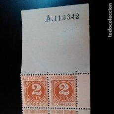 Sellos: ESTADO ESPAÑOL. CIFRAS Y CID. EDIFIL Nº 915. 1940. BLOQUE DE 4. Lote 84952420
