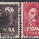 Sellos: ESPAÑA, 1947 EDIFIL Nº 1015 / 1016 . Lote 155680594