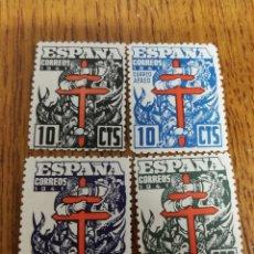 Sellos: ESPAÑA ;948/50 MNH. TUBERCULOSOS 1941. Lote 155777018