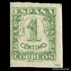 Sellos: SELLOS.ESPAÑA.EDIFIL. Nº 802 ESTADO ESPAÑOL.1936-1937.JUNTA DE DEFENSA NACIONAL. 1C. VERDE.NUEVO**.. Lote 155925550