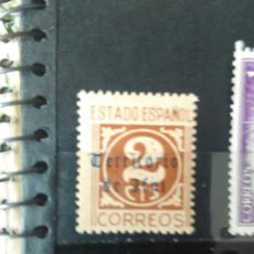 Sellos: EDIFIL 915 SOBRECARGADO -TERRITORIO DE IFNI - DE LA SERIE: CIFRAS Y CID. AÑO 1940: . Lote 156528610