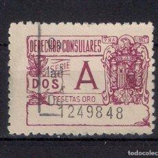 Sellos: ESPAÑA DERECHOS CONSULARES - 3/12. Lote 156704206