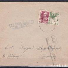 Sellos: CARTA DE BELALCAZAR Y CENSURA DE SAN MARTIN DE MONTALBAN (TOLEDO) SIN CATALOGAR. Lote 156864098
