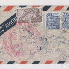 Sellos: RARÍSIMO CORREO AÉREO. MADRID - HABANA. 1947. VER DORSO MATASELLOS. Lote 157126070