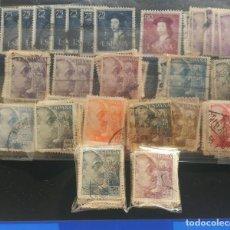 Sellos: 200 SELLOS ESPAÑOLES USADOS DESDE 1940 HASTA 1952. Lote 157904226