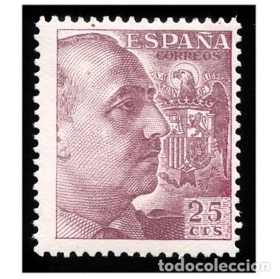 ESPAÑA 1949-53. EDIFIL 1048. CID Y GENERAL FRANCO. NUEVO** MNH (Sellos - España - Estado Español - De 1.936 a 1.949 - Nuevos)
