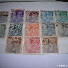 Sellos: LOTE DE 13 SELLOS CIRCULADOS DE FRANCO, AÑOS 1940 A 1945.. Lote 159791230