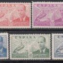 Sellos: ESPAÑA, 1939 EDIFIL Nº 880 / 886 /**/ . Lote 160420110