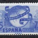 Sellos: 1949 EDIFIL 1063/65* NUEVOS CON CHARNELA. UNION POSTAL.. Lote 160729078