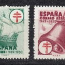 Sellos: 1949 EDIFIL 1066/69* NUEVOS CON CHARNELA. PRO TUBERCULOSOS.. Lote 160732230