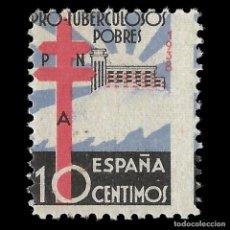 Sellos: SELLOS.ESPAÑA. ESTADO ESPAÑOL. 1939.PRO TUBERCULOSOS.10C. NUEVO**. EDIF. Nº 866. Lote 160918534