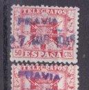 Sellos: CC38-TELÉGRAFOS USADOS PRAVIA (OVIEDO). Lote 161353826