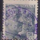 Sellos: CC38-JFRANCO MATASELLOS VIOLETA ALCOLEA DEL RIO (SEVILLA). Lote 161357470