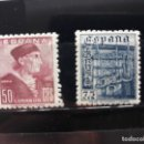 Sellos: EDIFIL 1002 * 1003*. ESPAÑA 1946. Lote 161375162