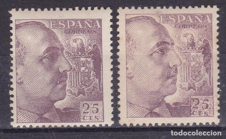 SS11- FRANCO EDIFIL 1048 A VARIEDADES (Sellos - España - Estado Español - De 1.936 a 1.949 - Nuevos)