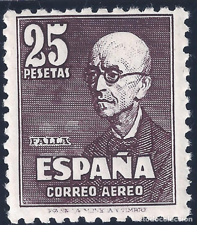 EDIFIL 1015 FALLA 1947. CENTRADO DE LUJO. VALOR CATÁLOGO: 130 €. MNH ** (Sellos - España - Estado Español - De 1.936 a 1.949 - Nuevos)