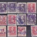 Sellos: CC27 -FRANCO /CID / ISABEL LOTE 17 SELLOS MATASELLOS LINEALES CENSURA Y SIMILARES . Lote 165219654