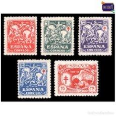 Sellos: ESPAÑA 1945. EDIFIL 993/97 997. PRO TUBERCULOSOS -SIN FIJASELLO- NUEVO** MNH. Lote 165524706