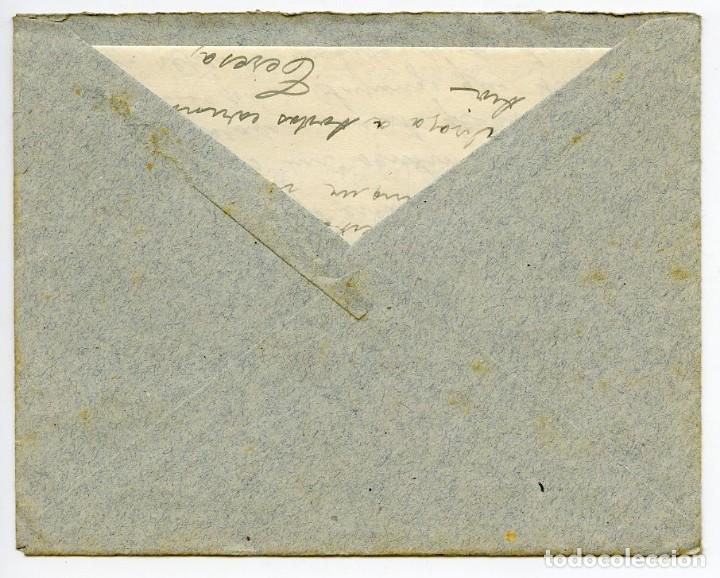Sellos: Balneario de Cardó, Benifallet, Tarragona. Sobre con 2 cartas, matasellos y membretes del Cardó.1942 - Foto 3 - 166621138