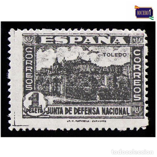 ESPAÑA 1936-37. EDIFIL 811. JUNTA DE DEFENSA NACIONAL. NUEVO** MNH (Sellos - España - Estado Español - De 1.936 a 1.949 - Nuevos)