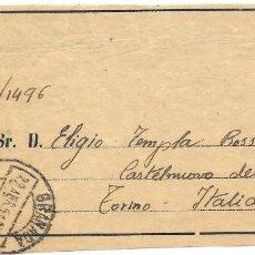 Sellos: ESTADO ESPAÑOL. EDIFIL 1050. DE GRANADA A ITALIA. PERIODICOS TARIFA ESPECIAL REDUCIDA.1951. Lote 166704494
