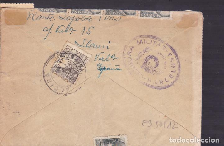 Sellos: CM1-38- Carta ALCIRA (Valencia)- USA 1944- Censura . Espectacular Franqueo - Foto 2 - 167479304