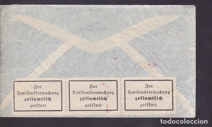 Sellos: CM1-50- Carta LAS PALMAS- ALEMANIA 1939. Censuras Española / alemana - Foto 2 - 167483468