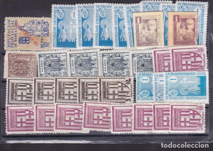 YY25-FISCALES . LOTE 34 SELLOS NUEVOS ** SIN FIJASELLOS (Sellos - España - Estado Español - De 1.936 a 1.949 - Nuevos)
