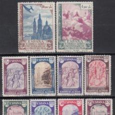 Sellos: ESPAÑA. 1940 EDIFIL Nº 904 / 913 /**/, CENTENARIO DE LA VIRGEN DEL PILAR, SIN FIJASELLOS. . Lote 167865184