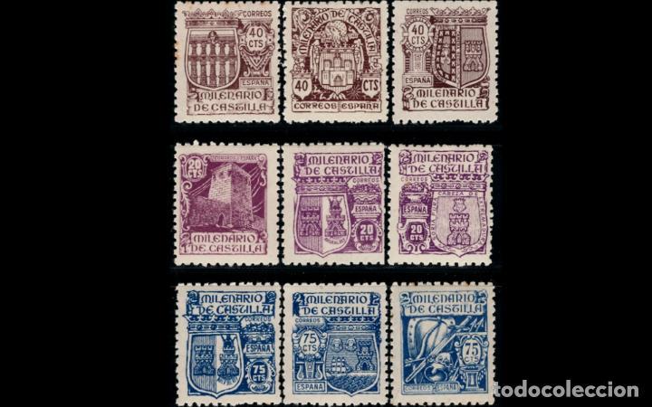 ESPAÑA - 1944 - EDIFIL 974/982 - SERIE COMPLETA - MNH** - NUEVOS - VALOR CATALOGO 50€. (Sellos - España - Estado Español - De 1.936 a 1.949 - Nuevos)