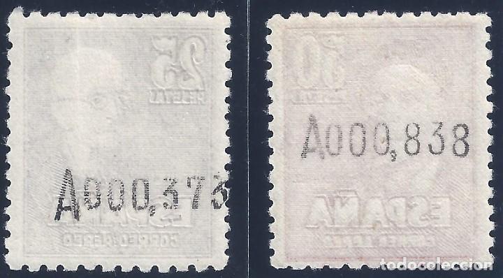 Sellos: EDIFIL 1015-1016 FALLA Y ZULOAGA. CORREO AÉREO 1947. CENTRADO DE LUJO. VALOR CATÁLOGO: 475 €. MNH ** - Foto 2 - 168002652